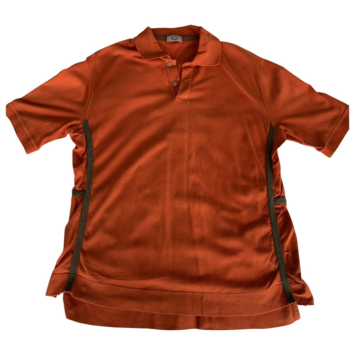 Hermes \N Poloshirts in  Orange Baumwolle