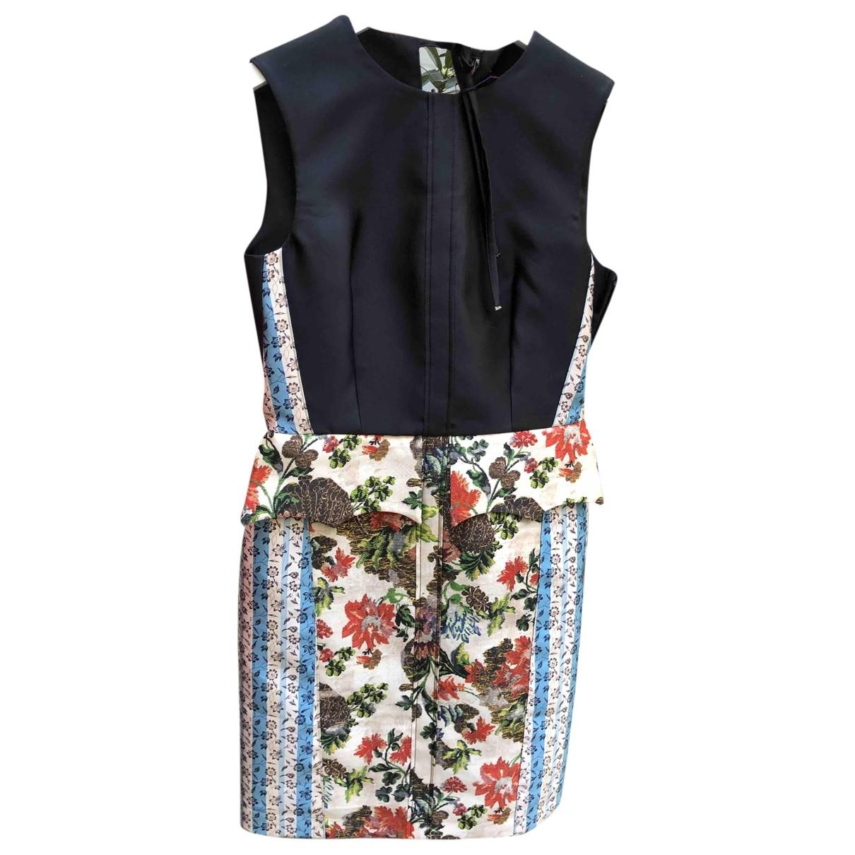 Louis Vuitton - Robe   pour femme en soie - noir