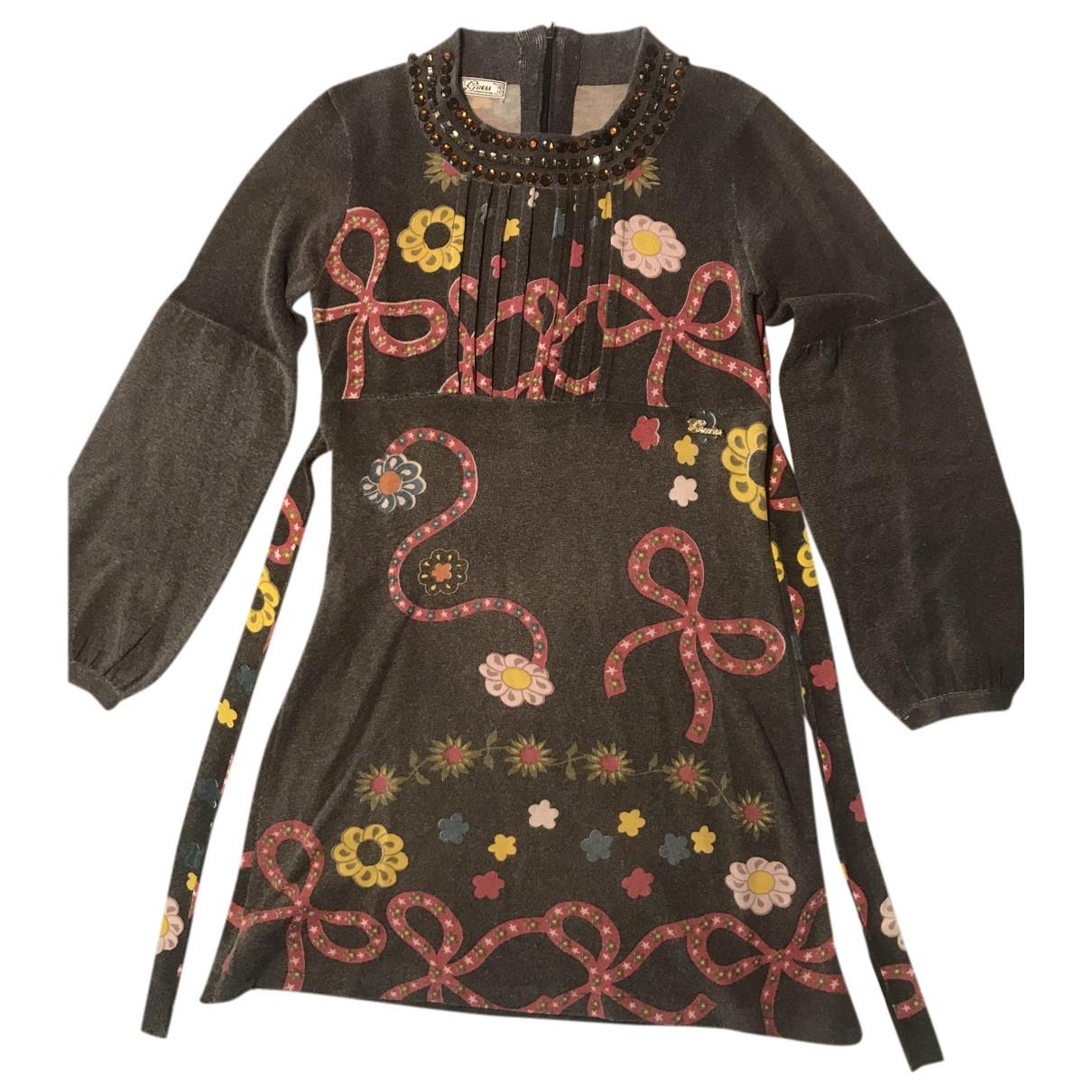 Guess \N Kleid in  Bunt Wolle