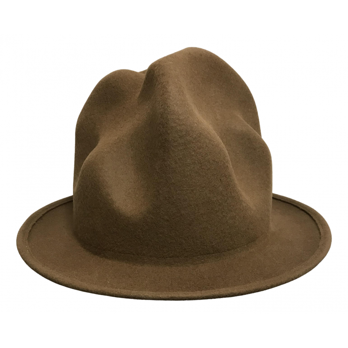 Vivienne Westwood - Chapeau & Bonnets   pour homme en laine - marron