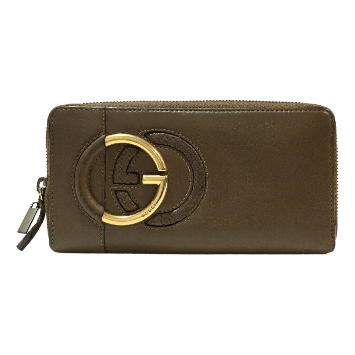 Gucci \N Portemonnaie in Leder