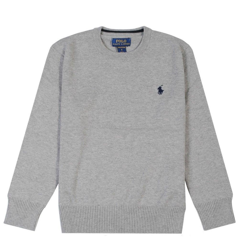 Ralph Lauren Kids Sweatshirt Colour: GREY, Size: 6 YEARS