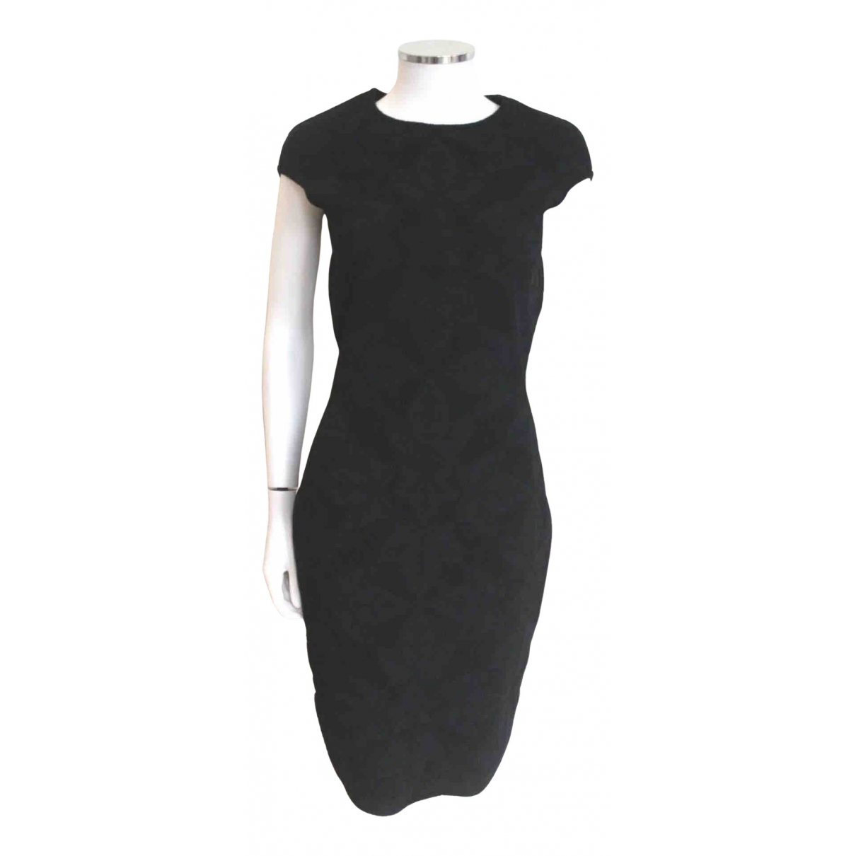 Alexander Mcqueen N Black Wool dress for Women L International