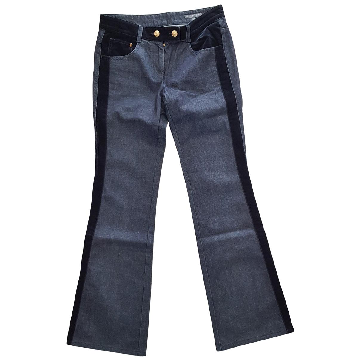 Alexander Mcqueen \N Blue Denim - Jeans Jeans for Women 42 IT