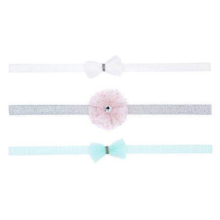 Carter's Tulle 3-pc. Headband, 0-6 Months , Multiple Colors