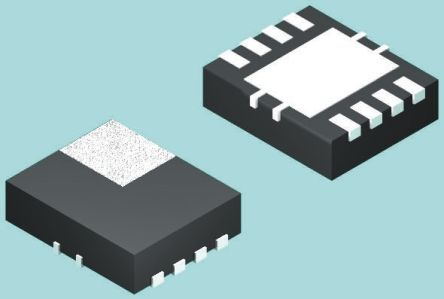 Texas Instruments , EMI Filter IC 308MHz WSON SMD, Flat Contact Termination, 1.8 x 1.45 x 0.75mm (25)