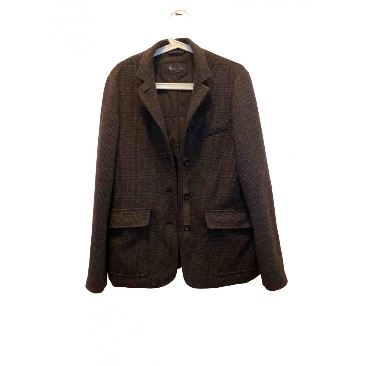 Loro Piana \N Brown Cashmere jacket for Women 46 IT