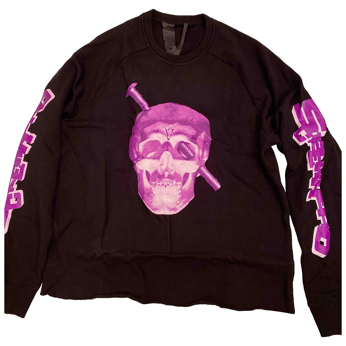 Vlone \N Pullover.Westen.Sweatshirts  in  Schwarz Baumwolle