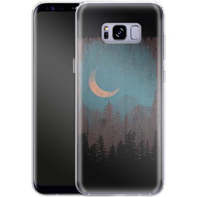 Samsung Galaxy S8 Plus Silikon Handyhuelle - Those Summer Nights von ND Tank