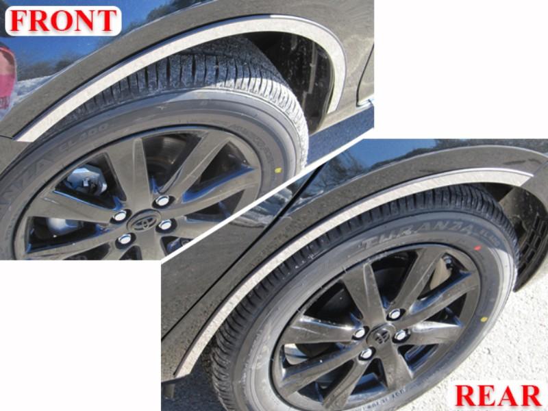 Quality Automotive Accessories Wheel Well Accent Trim Toyota Prius C 12-17