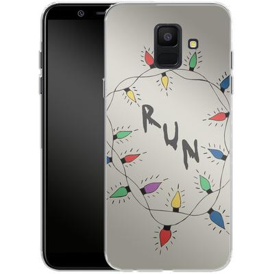 Samsung Galaxy A6 Silikon Handyhuelle - RUN von caseable Designs