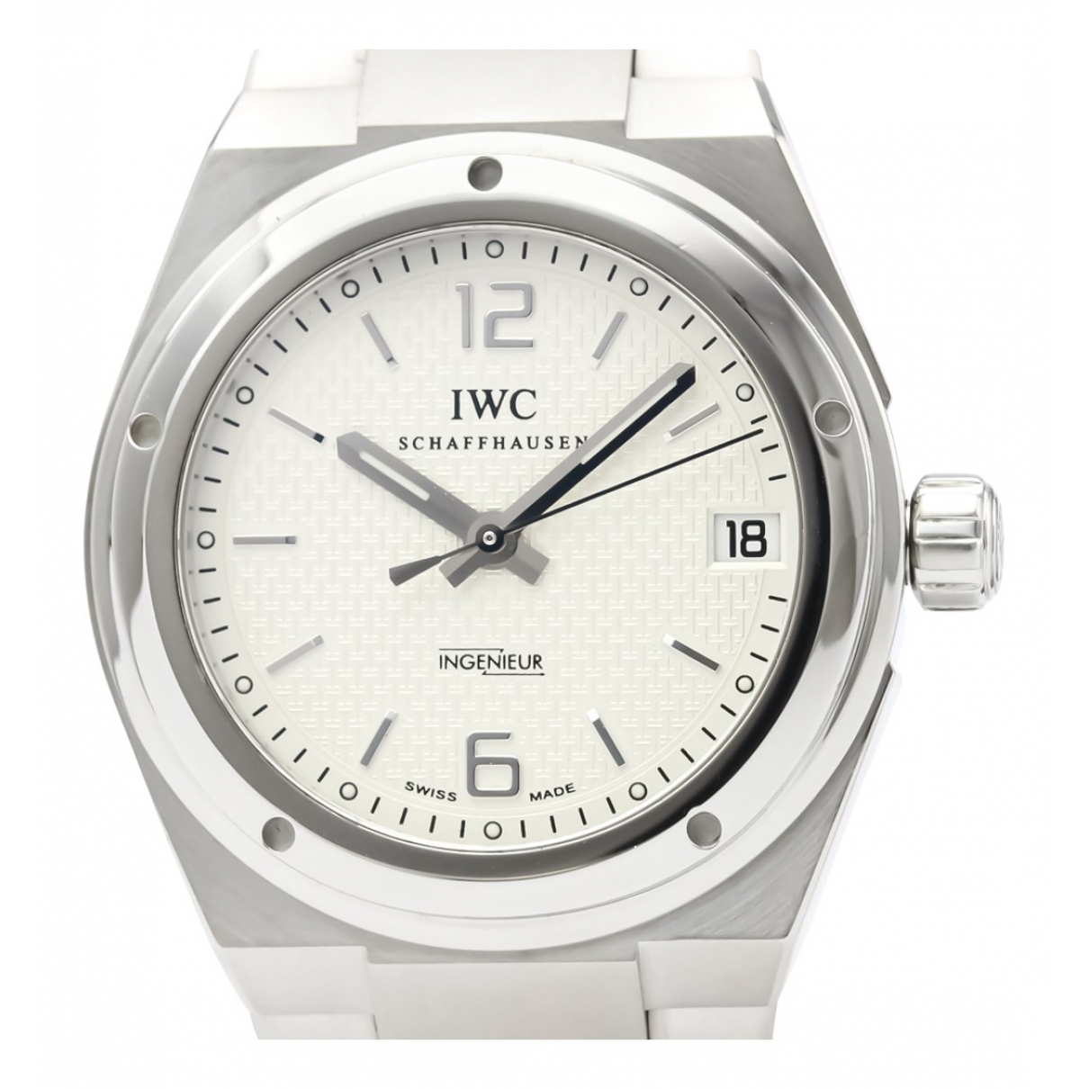 Iwc Ingenieur Uhr in  Silber Stahl