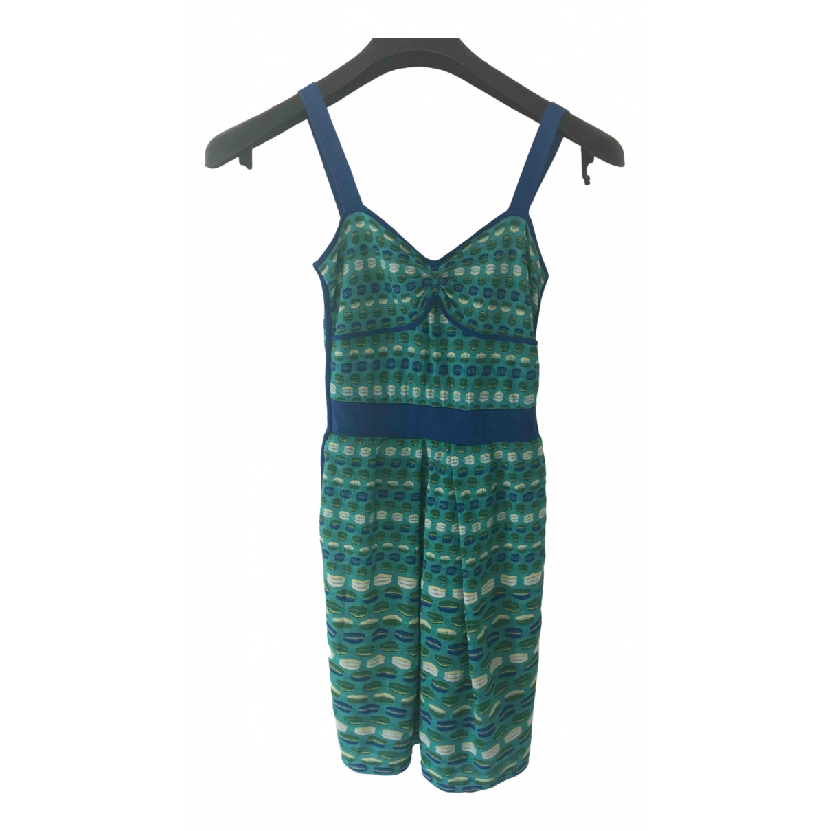 M Missoni \N Kleid in  Tuerkis Polyester