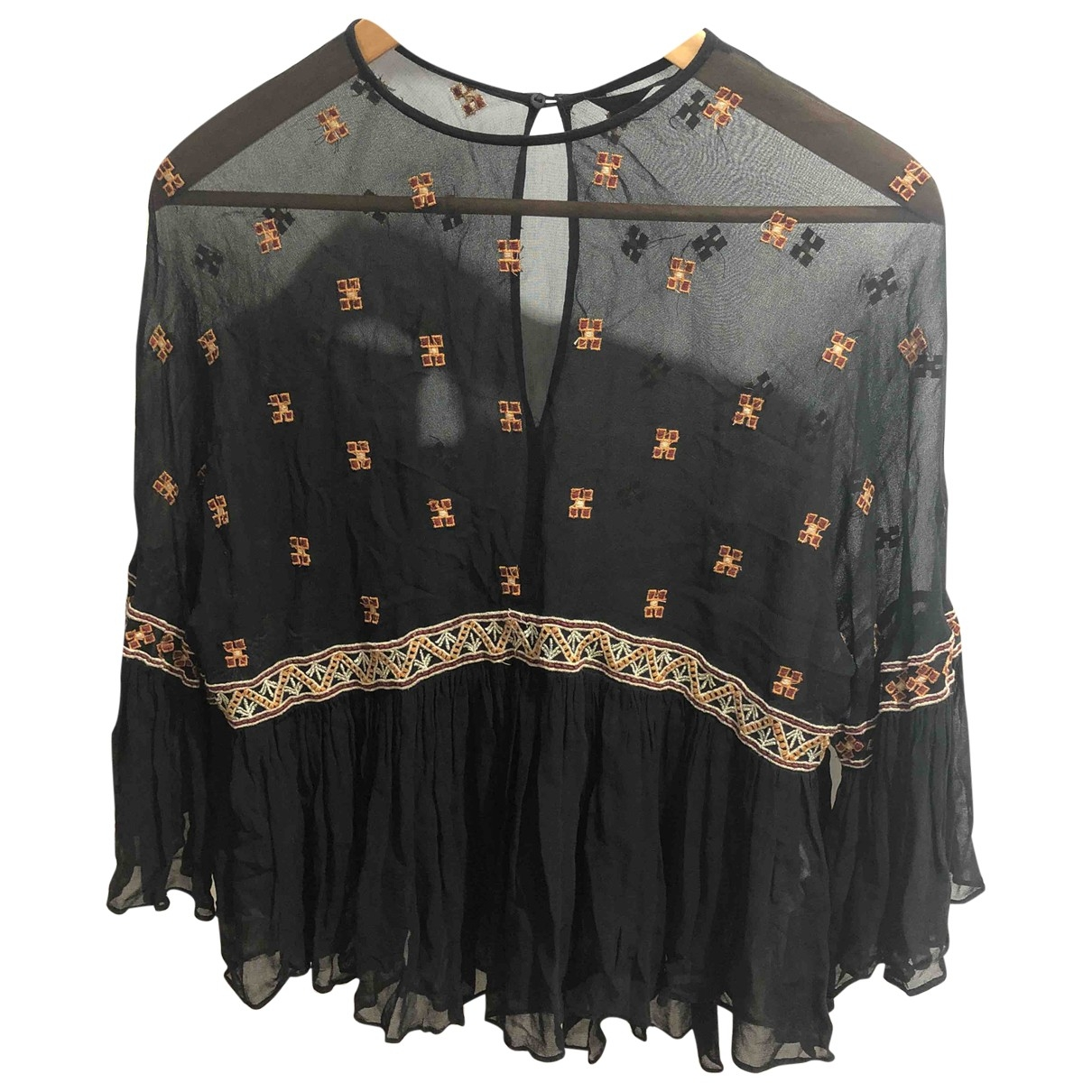 Zara \N Black  top for Women 10 UK