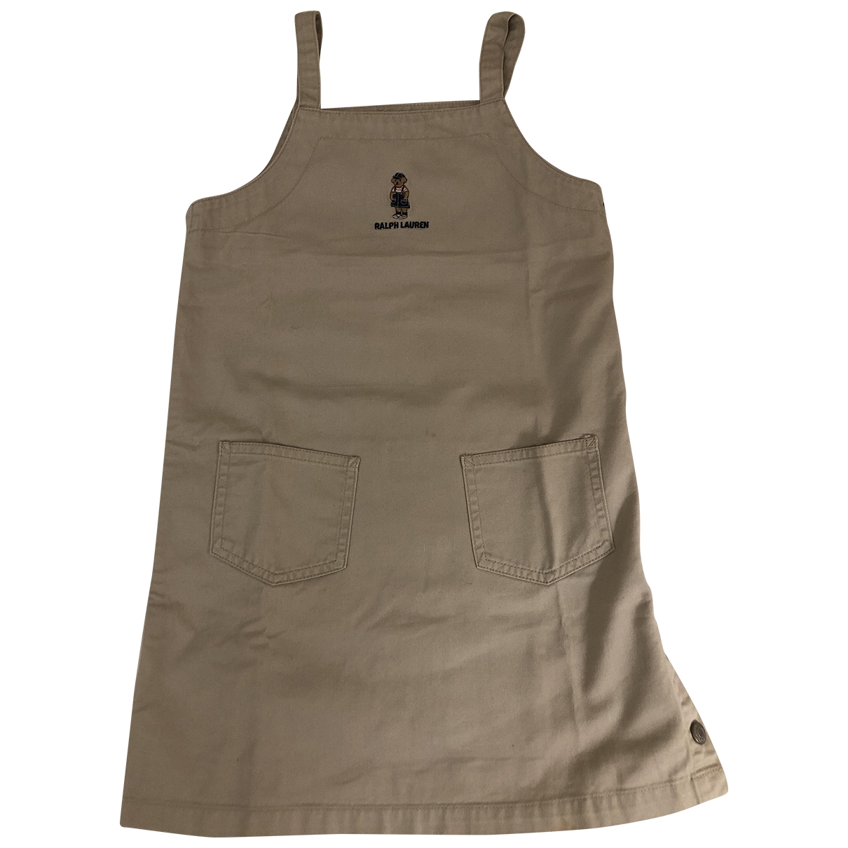 Ralph Lauren \N Beige Cotton dress for Kids 6 years - until 45 inches UK