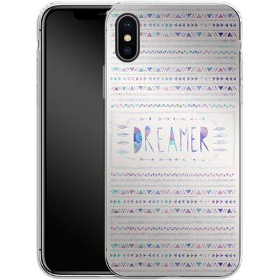 Apple iPhone X Silikon Handyhuelle - Dreamer von Bianca Green