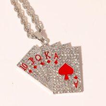 Collar con poker