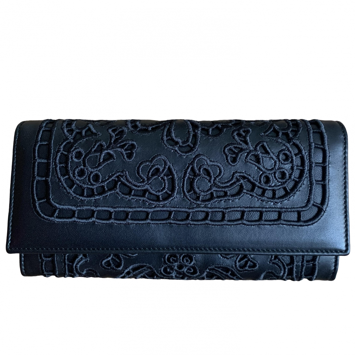 Dolce & Gabbana \N Black Leather wallet for Women \N