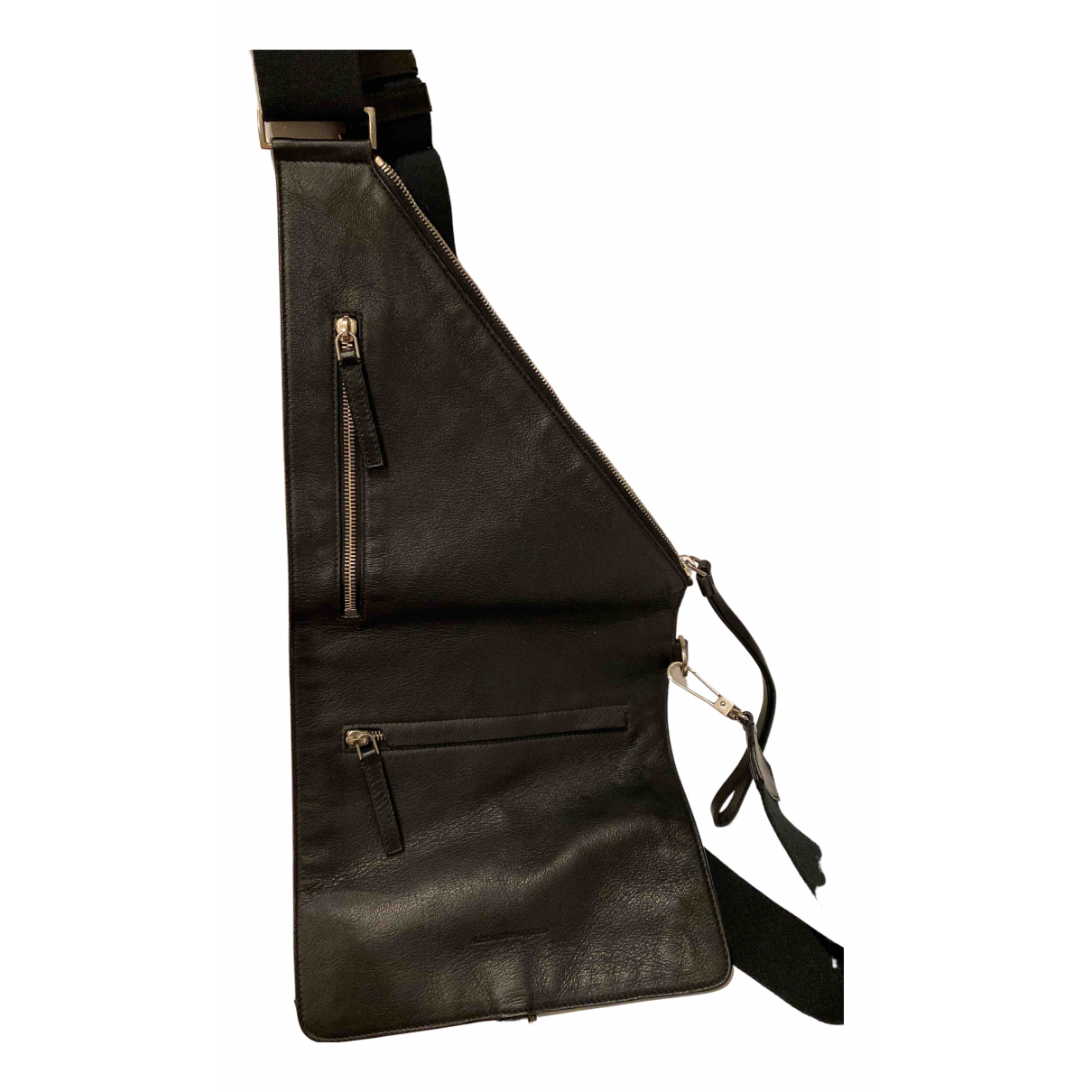 Alexander Mcqueen N Black Leather bag for Men N