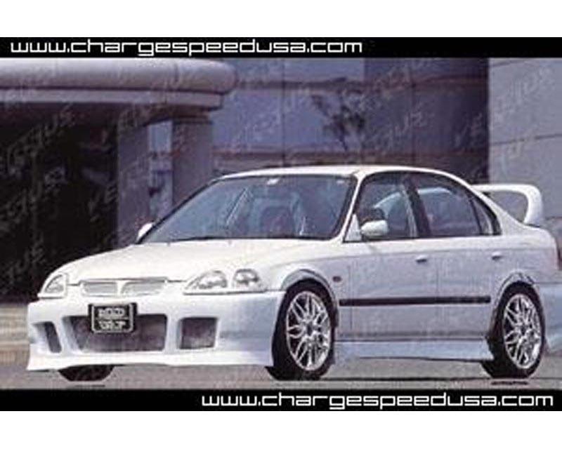 ChargeSpeed CS617EB FRP Headlight Covers Honda Civic EK Zenki 96-98