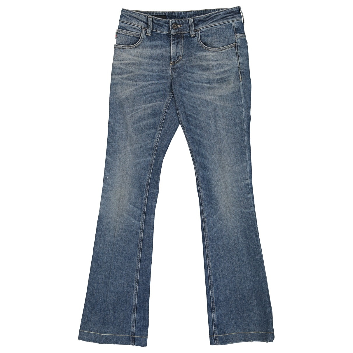 Gucci \N Blue Cotton Jeans for Women 24 US