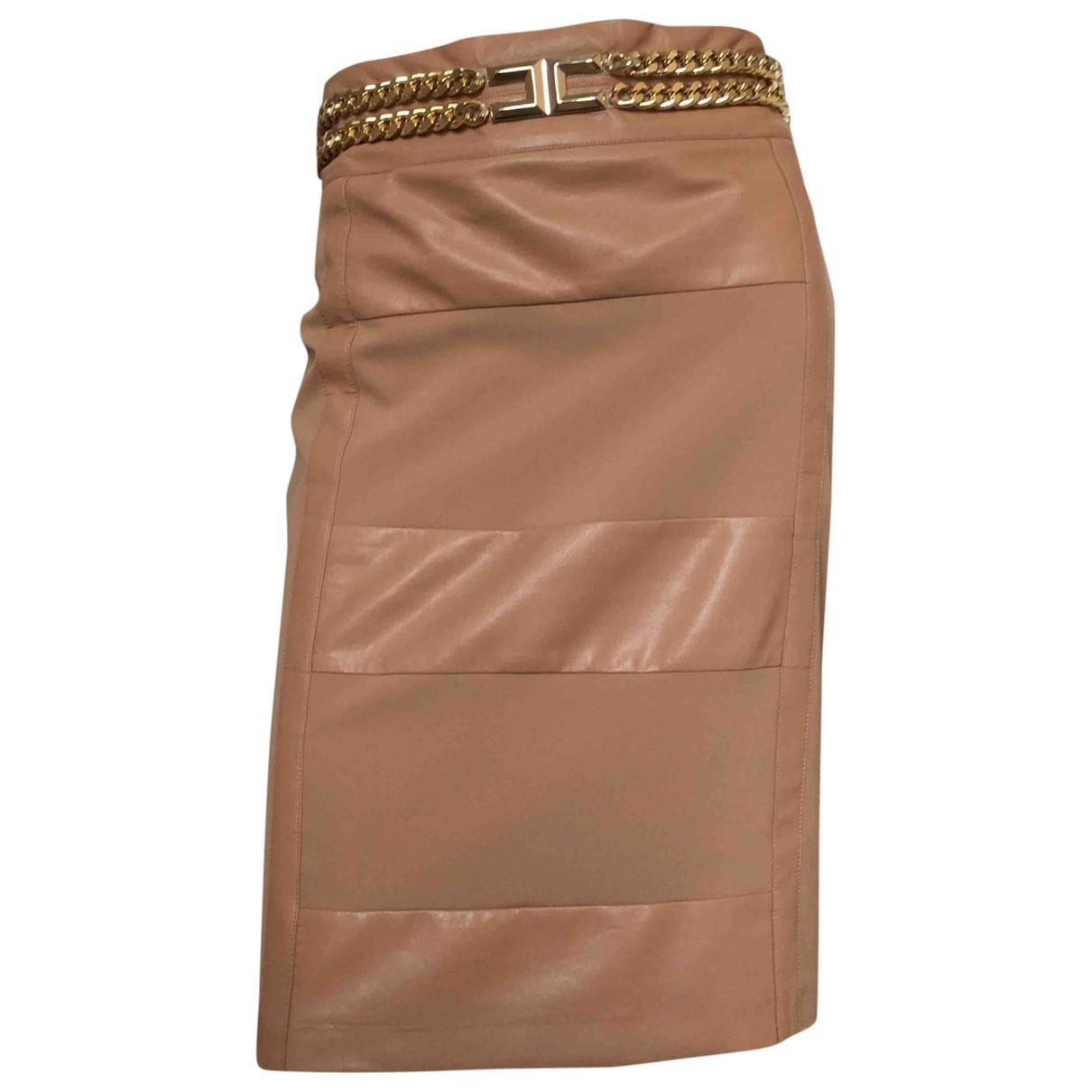 Elisabetta Franchi \N Beige skirt for Women 44 IT