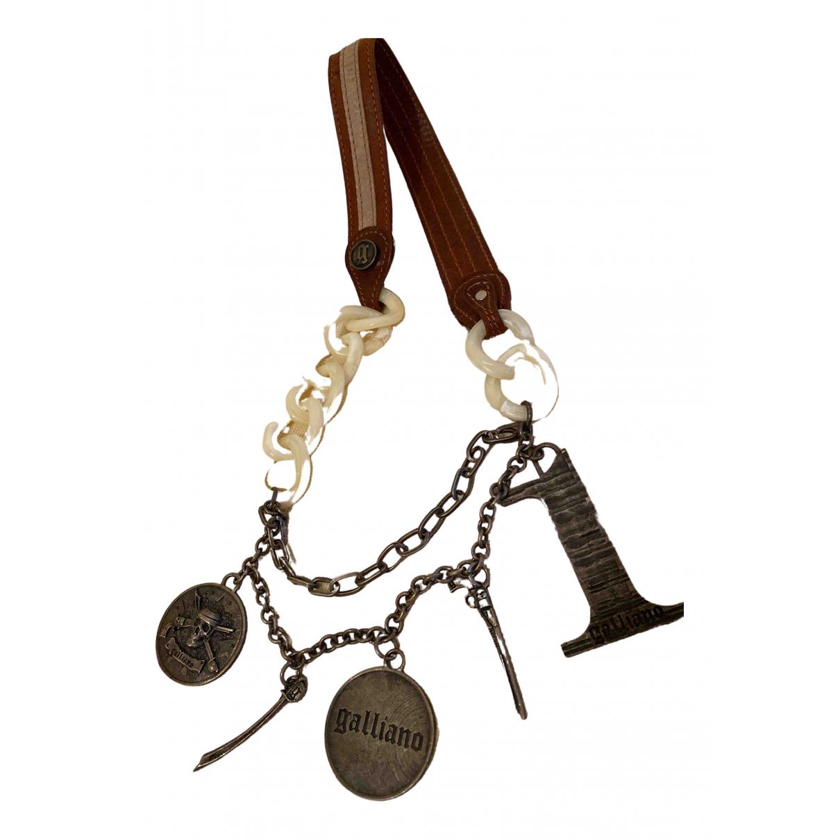 Galliano - Collier   pour femme en metal