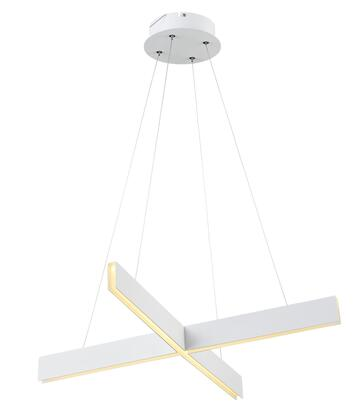 MV04WH LED Lighting with Metal and Acrylic Materials and 28 Watts in White