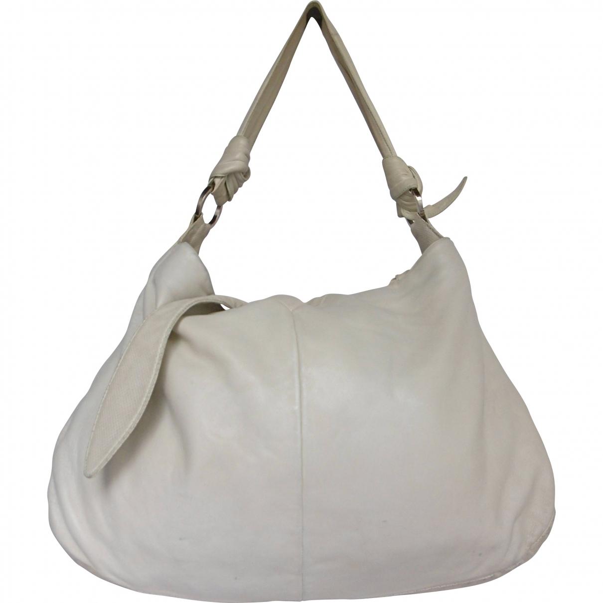Loewe \N Handtasche in  Weiss Leder