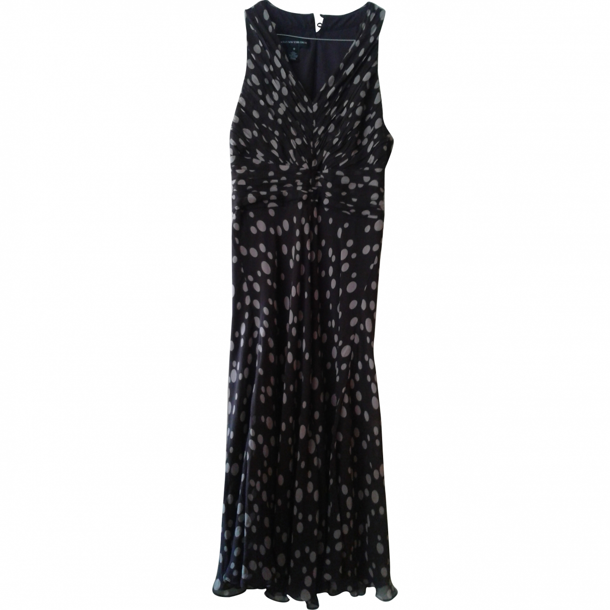 Non Signé / Unsigned \N Navy Silk dress for Women 10 US