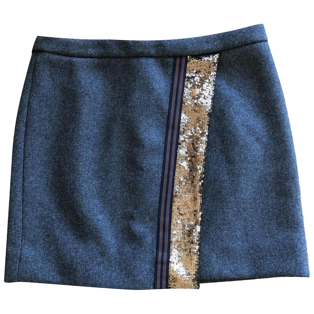 J.crew \N Anthracite Wool skirt for Women 4 US
