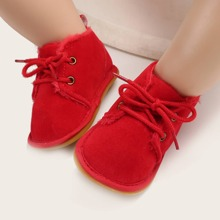 Baby Boy Lace-up Front Wide Fit Boots
