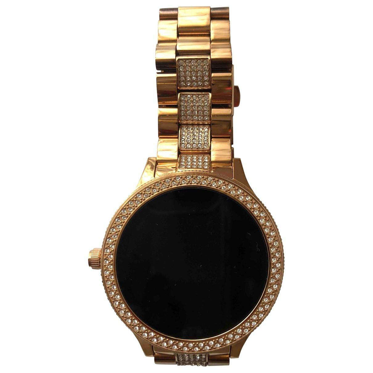 Fossil \N Gold Steel watch for Women \N