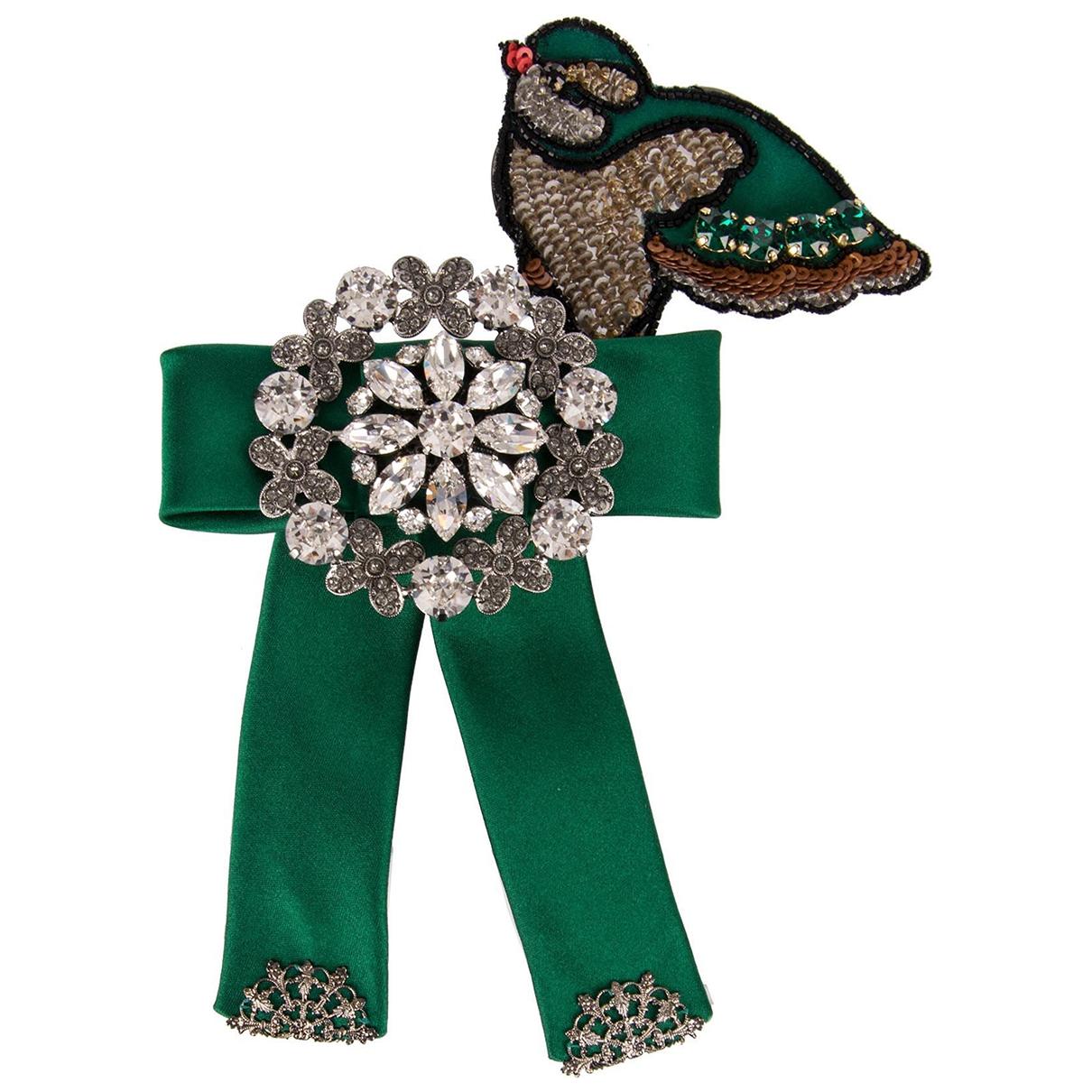 Dolce & Gabbana \N Haarschmuck in  Gruen Kristall