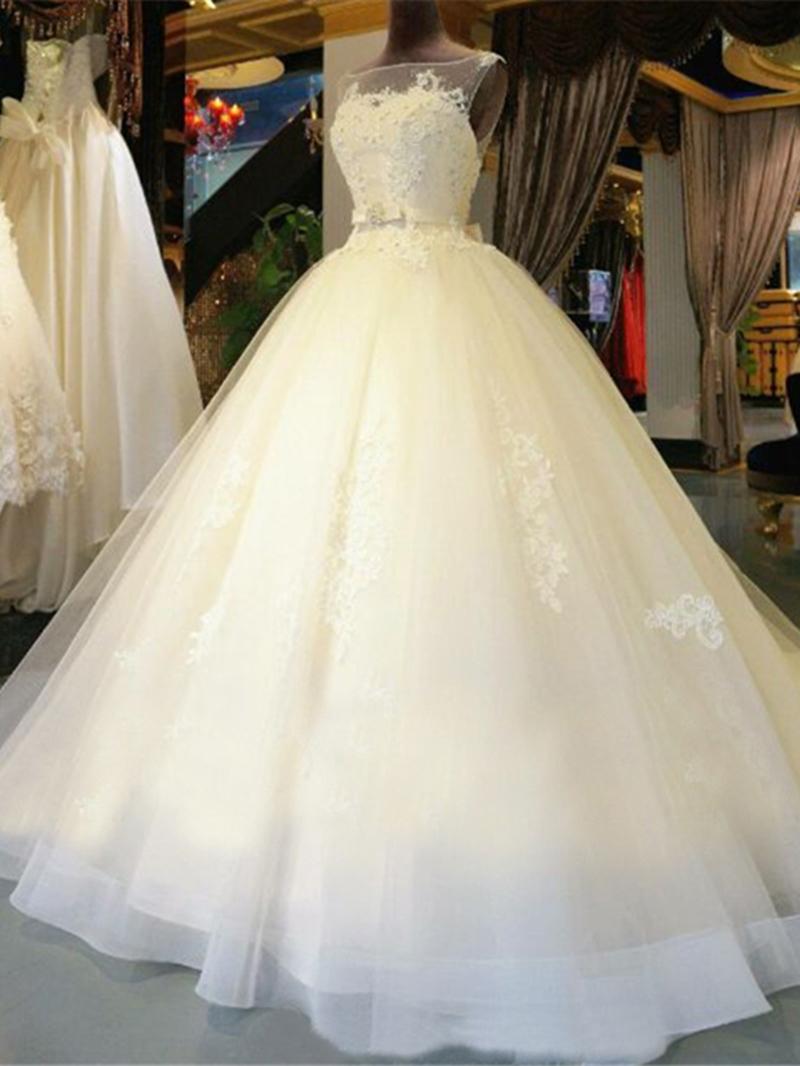 Ericdress Beautiful Ball Gown Wedding Dress