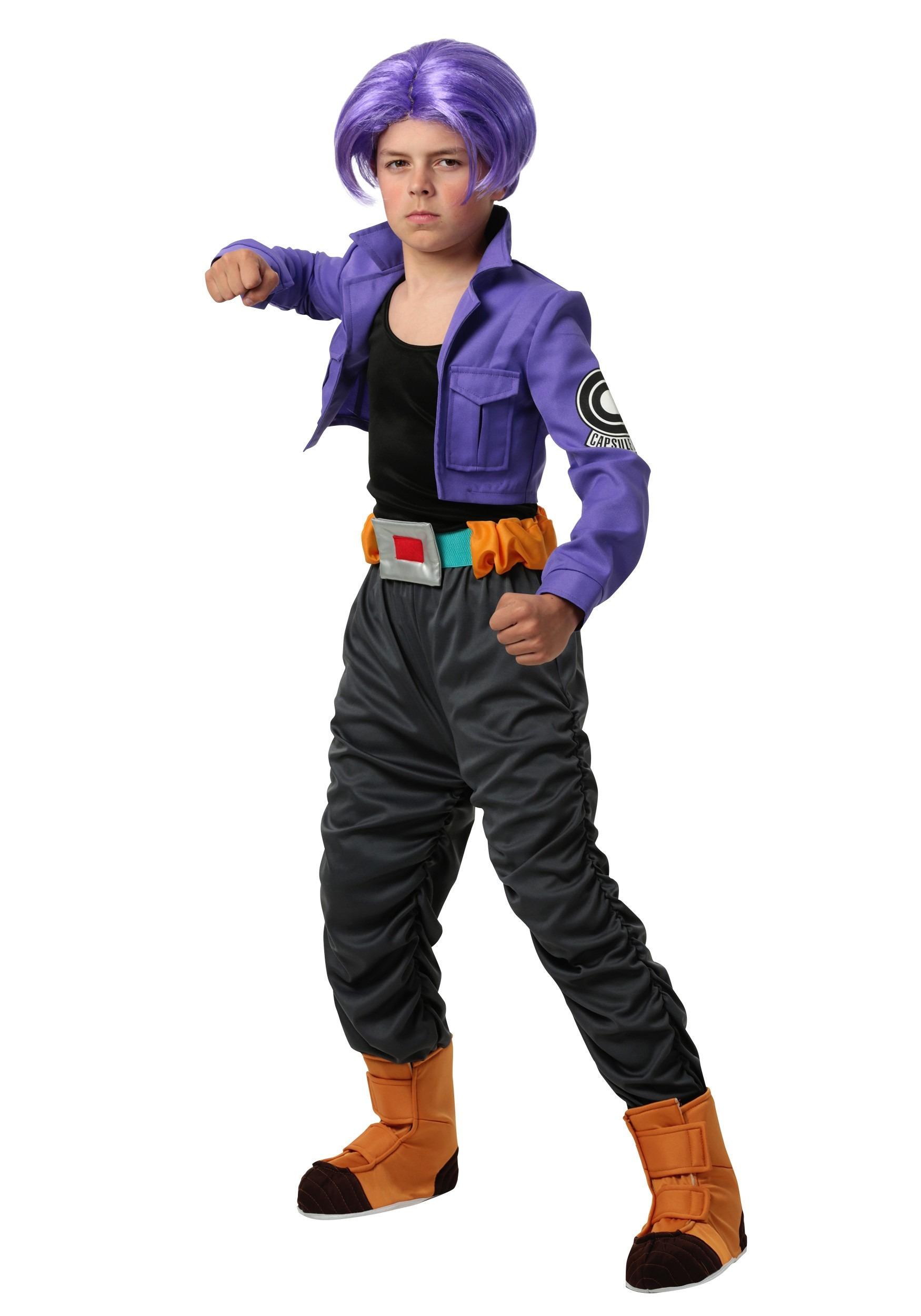 Dragon Ball Z Trunks Costume for Kids