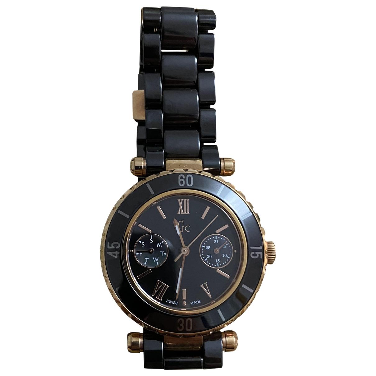 Guess \N Black Steel watch for Women \N