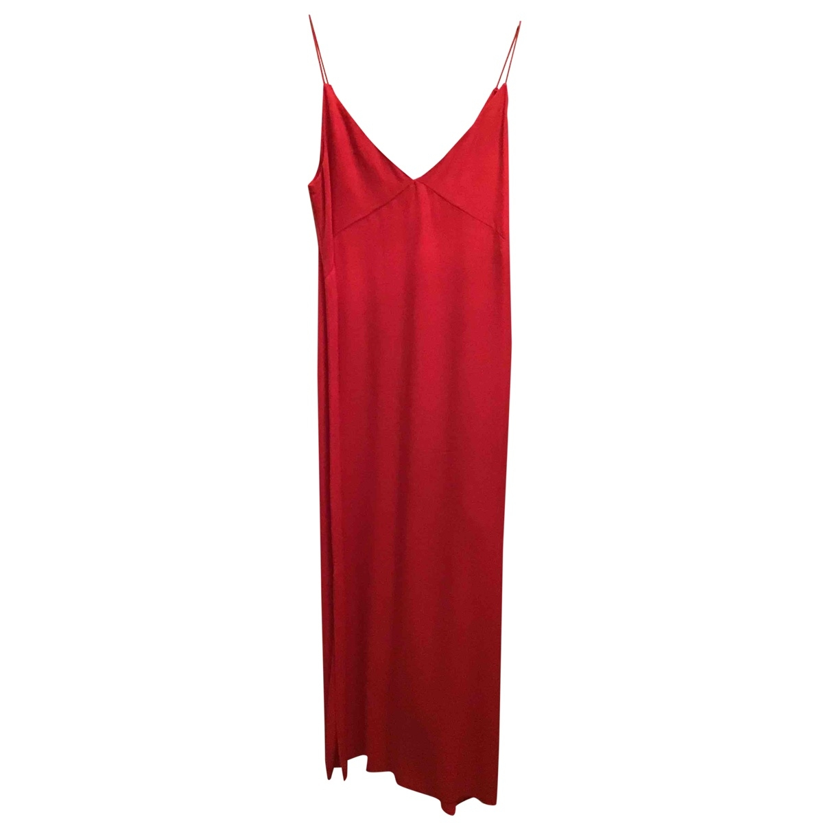Massimo Dutti - Robe   pour femme - rouge