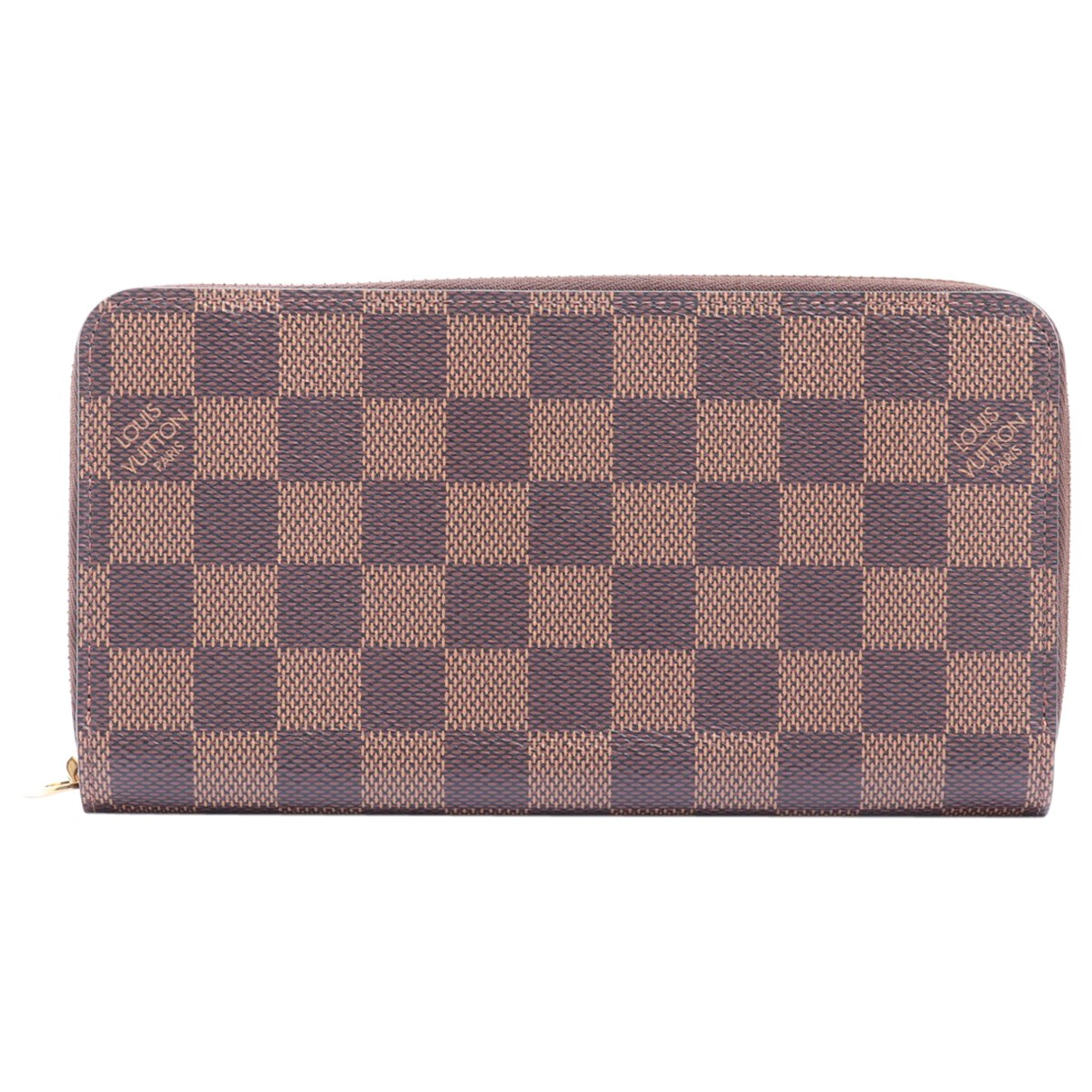 Louis Vuitton - Portefeuille Zippy pour femme en toile