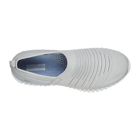Skechers Go Walk Smart Wise Womens Walking Shoes, 6 1/2 Medium, Gray