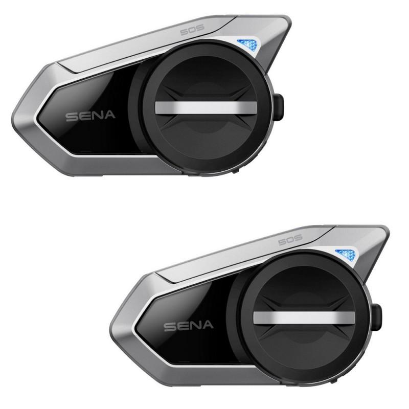 Sena 50S Bluetooth Headset 5.0 Dual Communication Kit