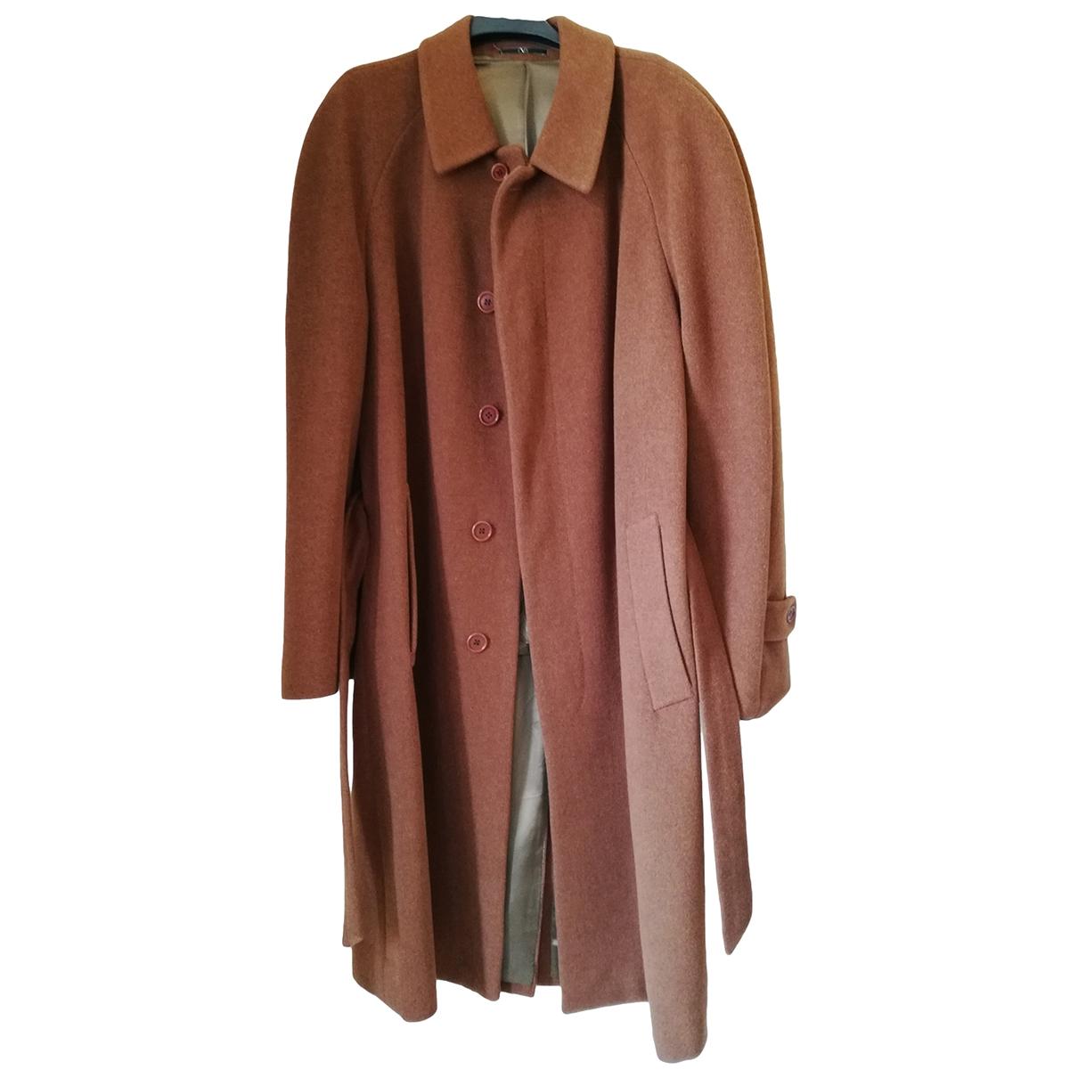Valentino Garavani - Manteau   pour homme en laine - marron