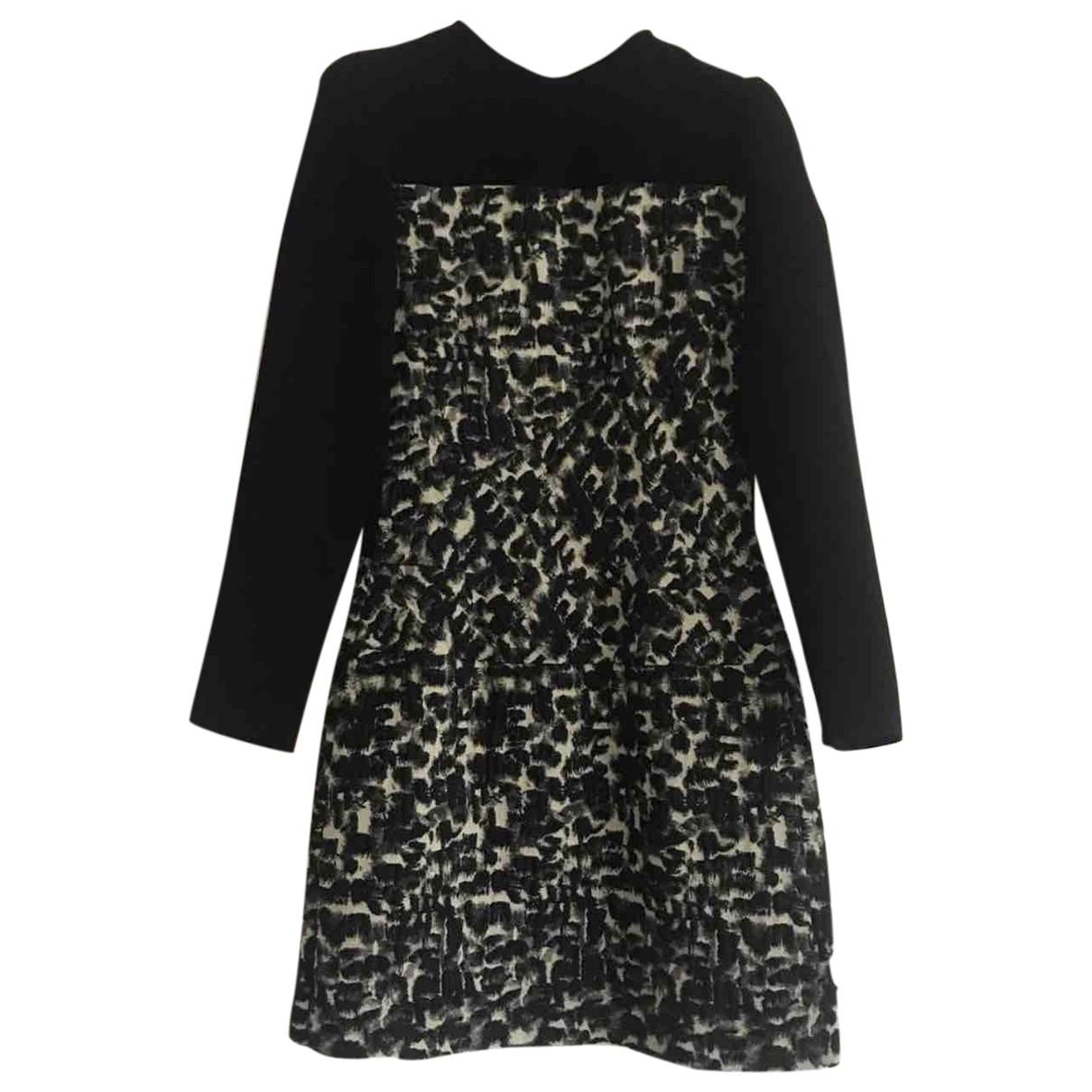 Roberto Torretta \N Black Sponge dress for Women 38 FR