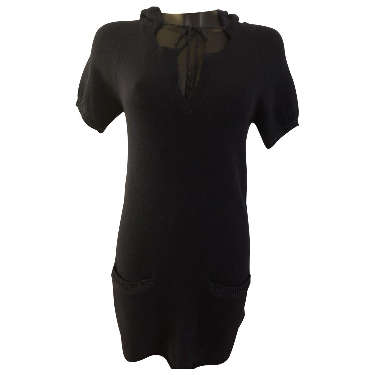 Berenice - Robe   pour femme en cachemire - marine