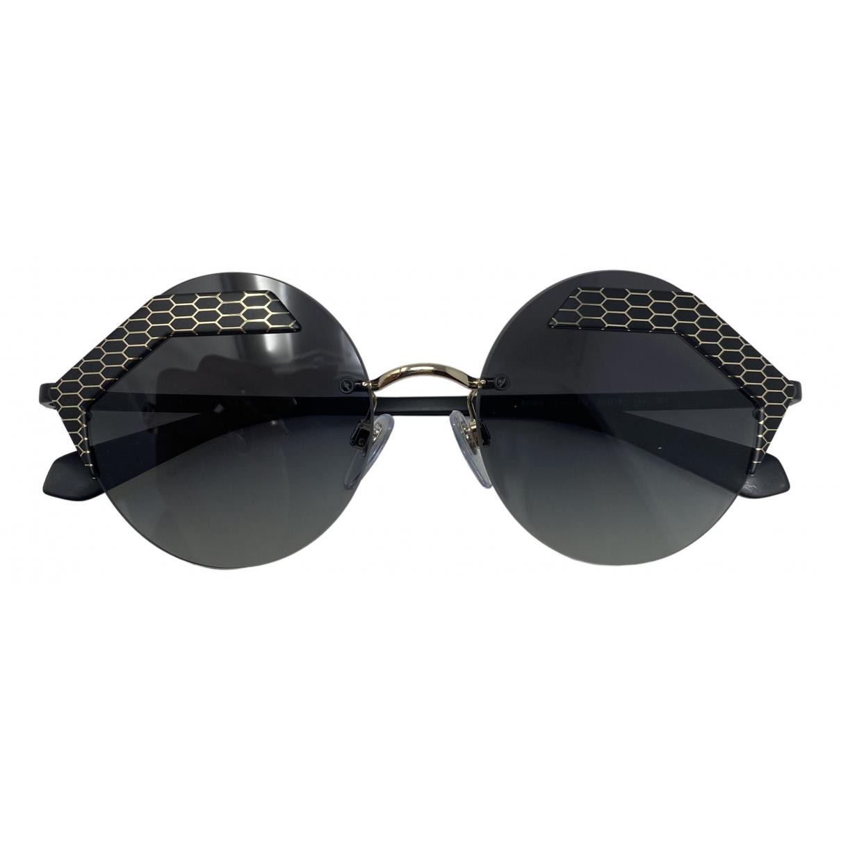 Bvlgari \N Black Metal Sunglasses for Women \N