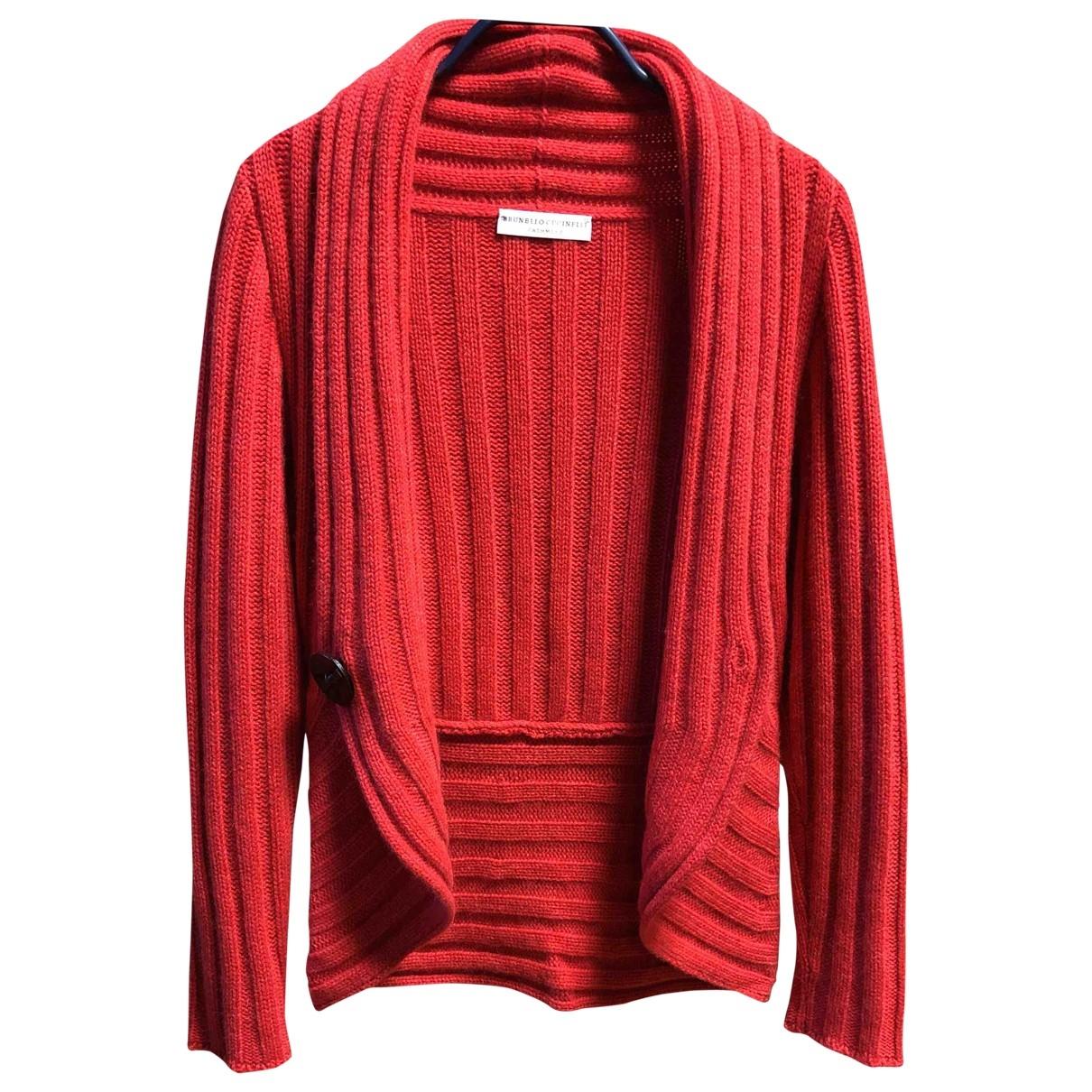 Brunello Cucinelli \N Red Cashmere Knitwear for Women XS International