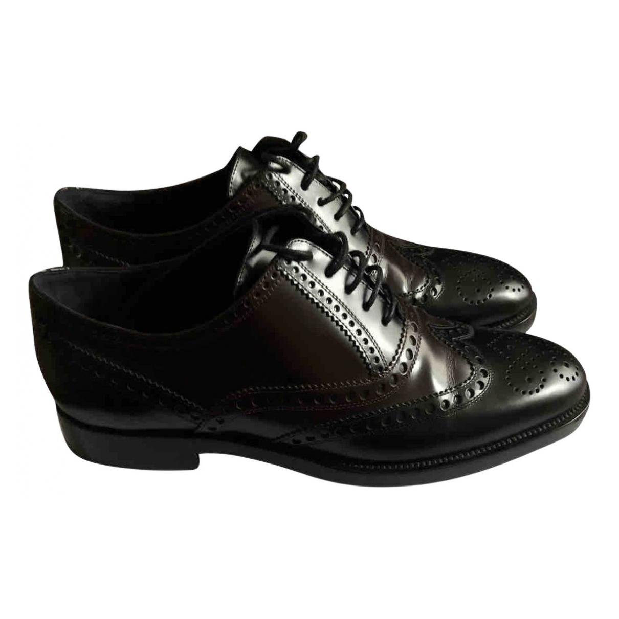 Dior - Derbies DiorUnit pour femme en cuir verni - noir