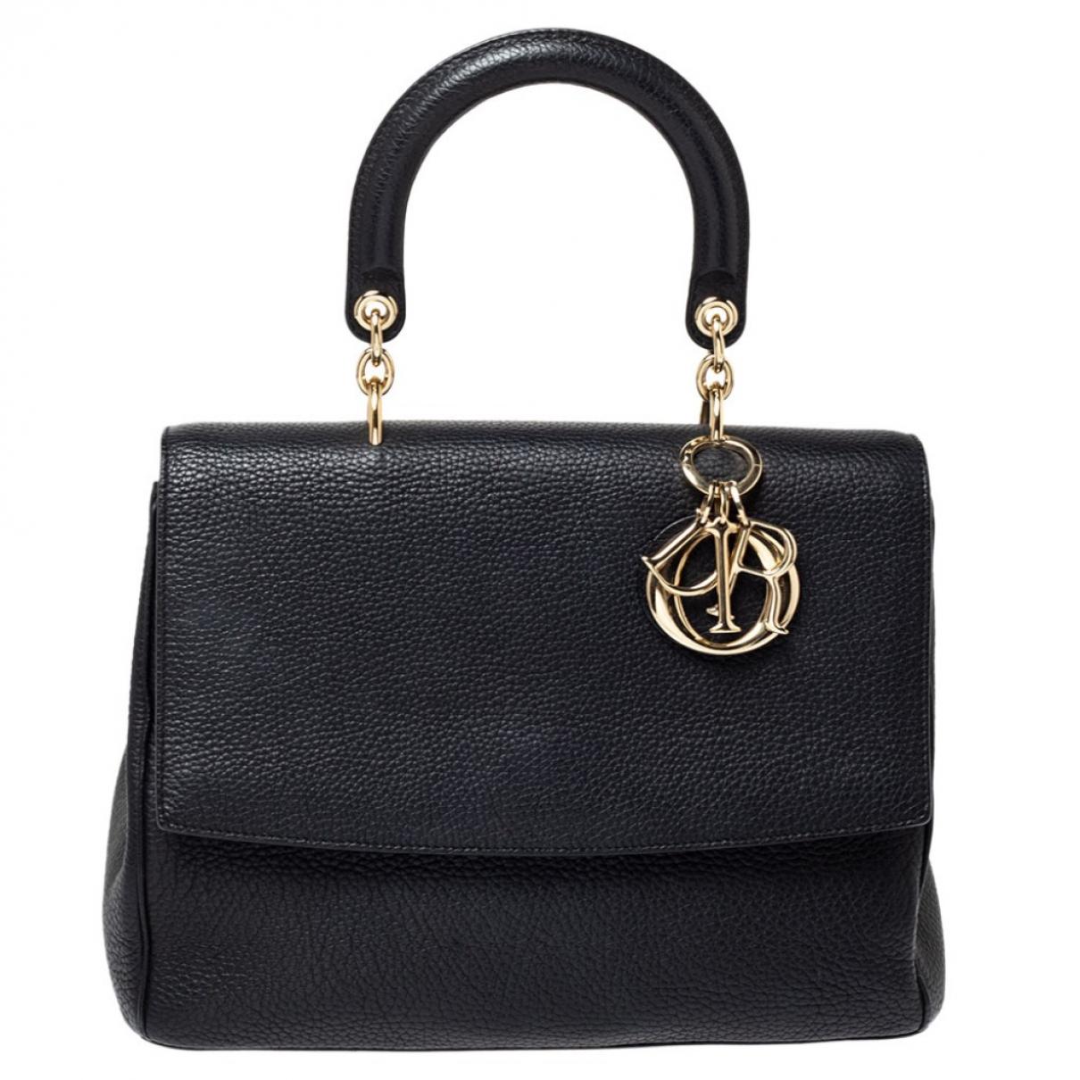 Dior Be Dior Black Leather handbag for Women N