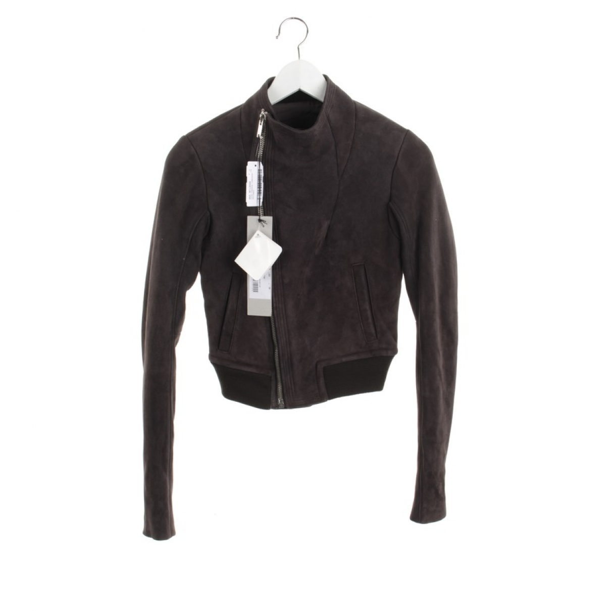 Rick Owens \N Brown Suede jacket for Women 34 FR