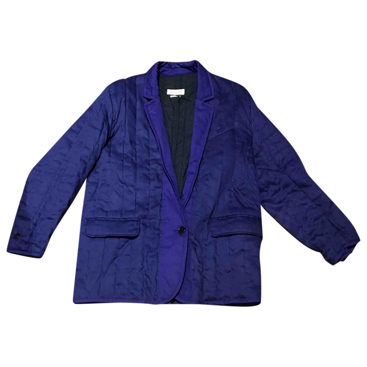 Isabel Marant Etoile \N Navy Cotton jacket for Women 36 FR